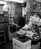 Office. Typical office of fish market Stock Images