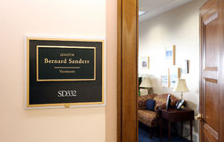 Office of United States Senator Bernie Sanders Stock Photos