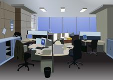 Office vector Stock Photography