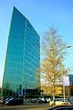 Office in the Vilnius city at autumn time on November 11, 2014 Royalty Free Stock Images