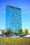 Office in the Vilnius city on spring time Stock Image