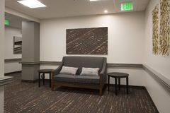 Office Waiting Area Hall Royalty Free Stock Photos