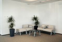 Office waiting room Royalty Free Stock Image