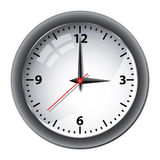 Office wall clock  Stock Image