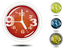Office Wall Clock Royalty Free Stock Photos