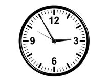 Office Wall clock classic design Stock Photos