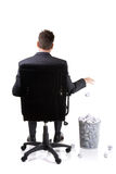 Office waste Royalty Free Stock Photos