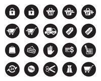 Office web icons  for office, web, blog, graphic & printing Stock Photo