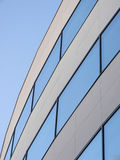 Office window. In a curved shape Royalty Free Stock Image