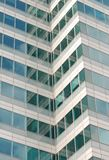 Office Window reflection Royalty Free Stock Image