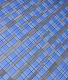 Office window texture. Blue Office window texture representing modernity Royalty Free Stock Image