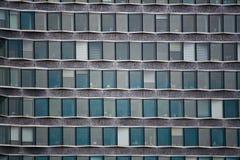 Office windows. Detail of Mirabeau Tower at Quai Andre Citroen, Paris Stock Images