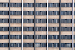 Office Windows. Repetitive office block windows in the city Royalty Free Stock Photo