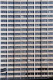 Office Windows. Repetitive office block windows in the city Royalty Free Stock Image