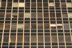 Office windows. Some office windows in a pattern Stock Photos