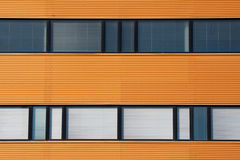 Office windows. Close-up of the office windows Stock Photography
