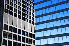Office Windows. Office Buildings. Downtown of Vancouver stock photos