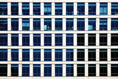 Office Windows Royalty Free Stock Photo