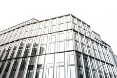 Office windows on a building Stock Photo