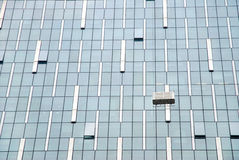 Office windows Royalty Free Stock Photography