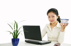 Office woman Stock Image