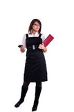 Office woman in studdio Stock Photography