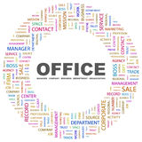 OFFICE. Royalty Free Stock Images