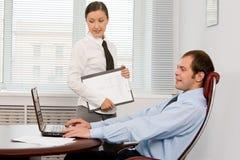 Office work Stock Photos