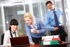 Office work Stock Images
