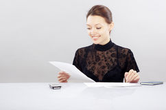 Office work Royalty Free Stock Image