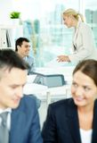 Office work Royalty Free Stock Photography