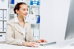 Office work Royalty Free Stock Images