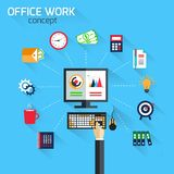 Office work concept Royalty Free Stock Photo
