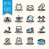 Office, Work Life Icon Set Royalty Free Stock Images