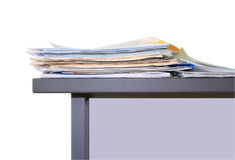 Office work, papers Stock Photography
