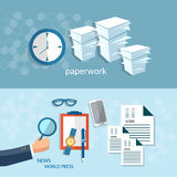 Office work paperwork business concept startup businessman Stock Photos