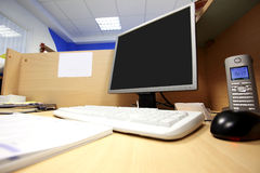 Office work place Stock Photos