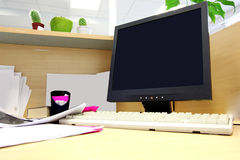 Office work place Stock Image