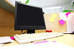 Office work place Royalty Free Stock Photography