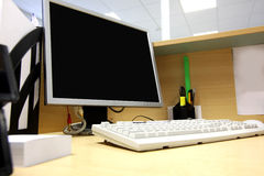 Office work place Stock Images