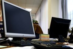 Office work place Stock Photography