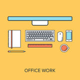 Office Work Stock Photography
