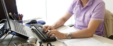 Office work Royalty Free Stock Photos