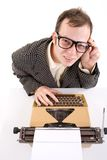 Office worker. Royalty Free Stock Photos