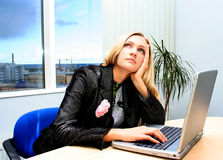 Office worker Royalty Free Stock Photography