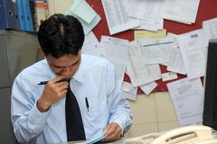 Office worker Stock Image