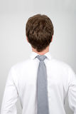 Office worker back to front Stock Image