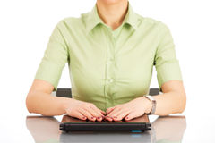 Office worker concept Royalty Free Stock Photography