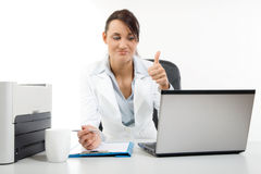 Office worker Stock Images