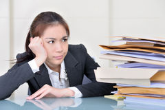 Office worker in office Stock Images